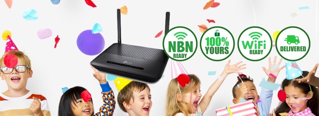 Free NBN Setup and a Free Wi-Fi Modem